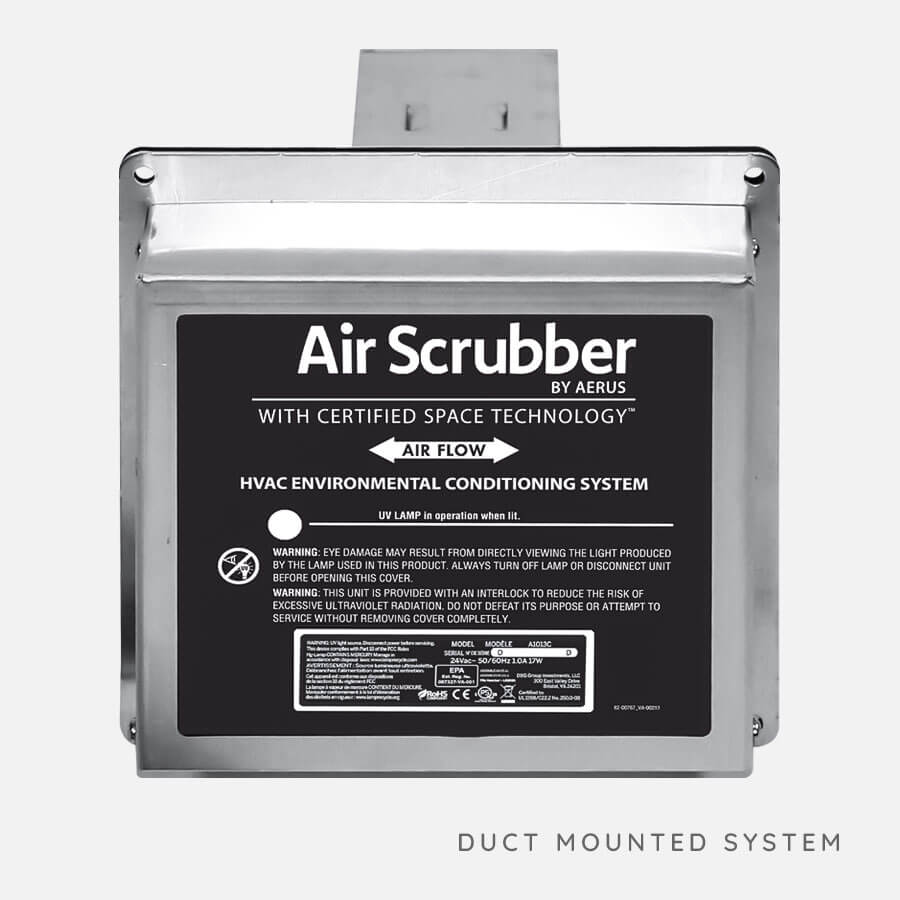 Air Scrubber Works as long as HVAC is running