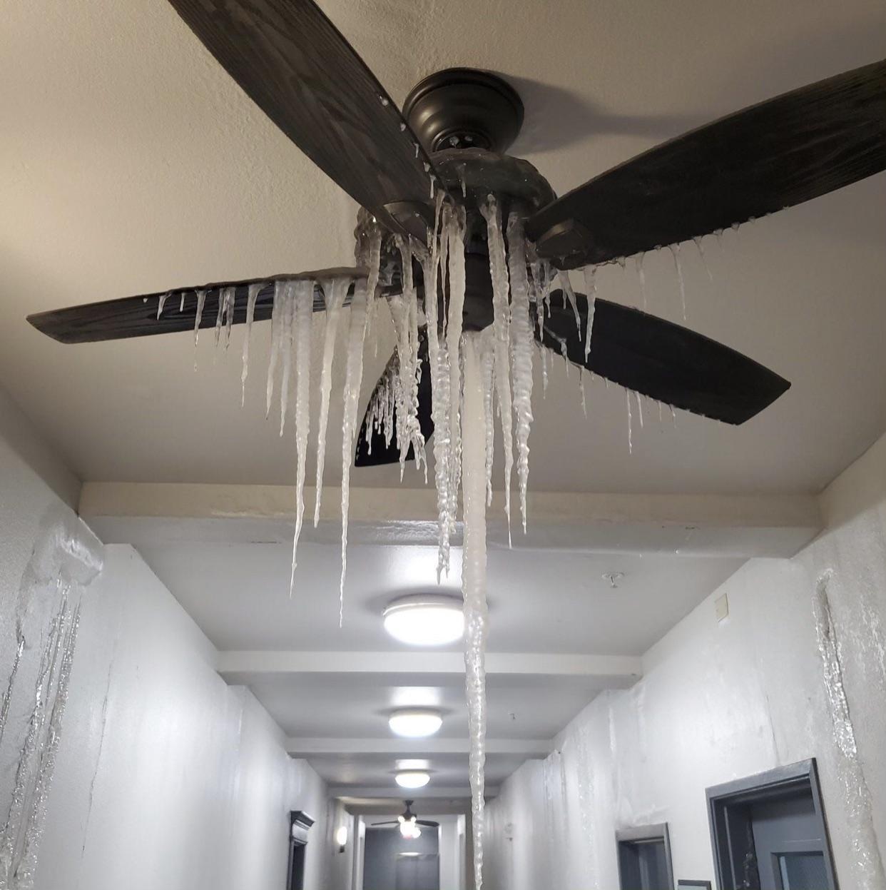Frozen home, what do you do?