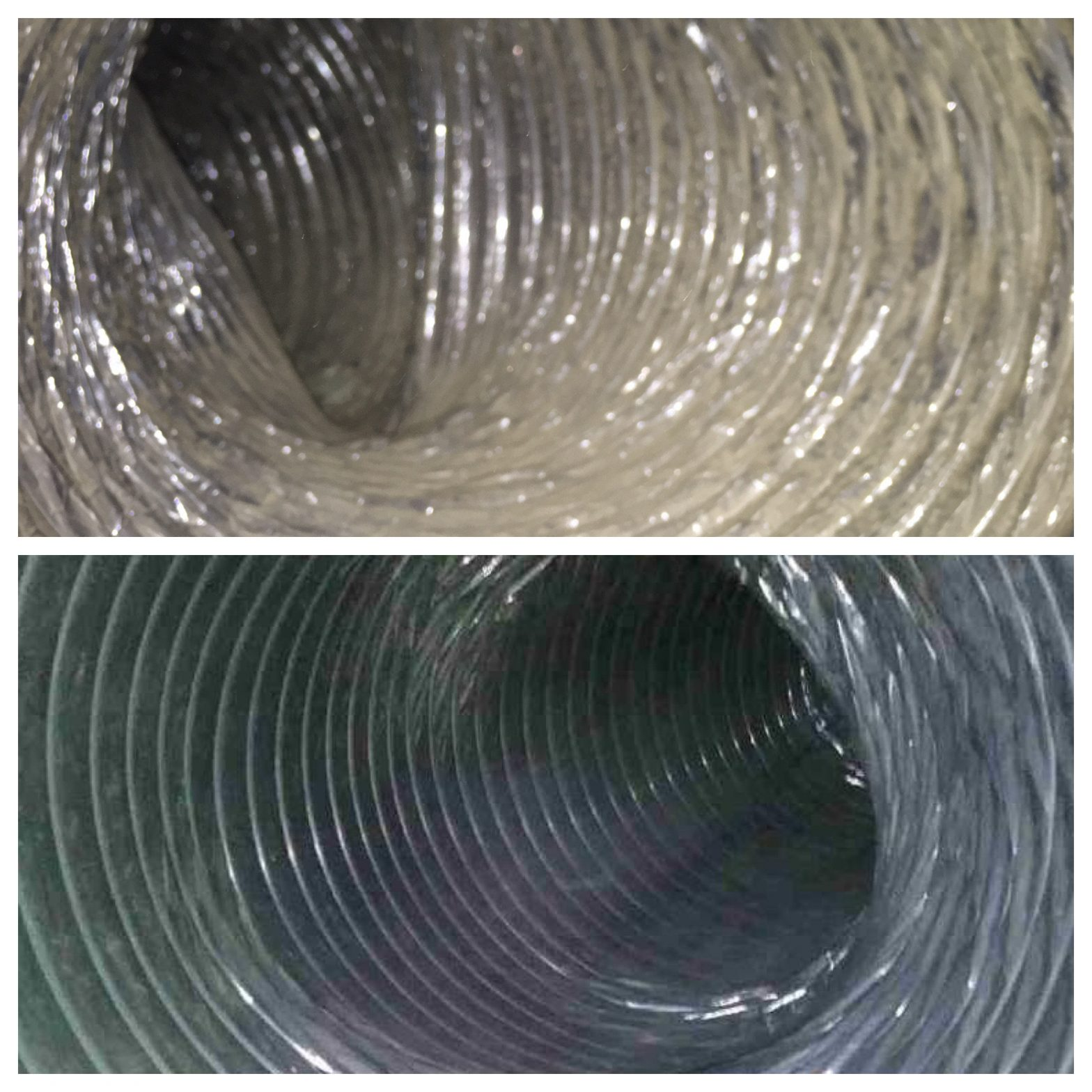 Clean that dirty duct until it sparkles