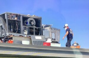 Time to clean the commercial HVAC