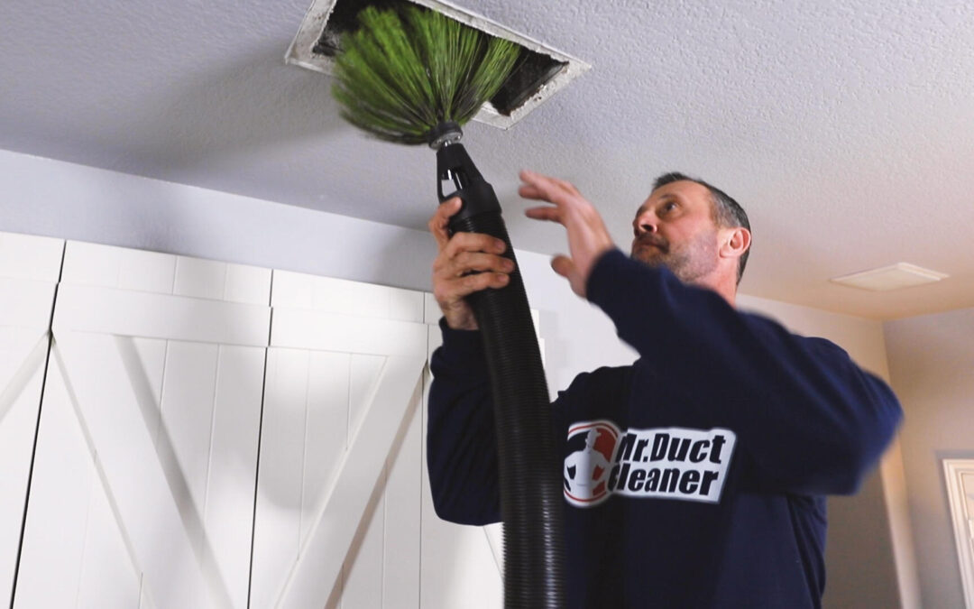 cleaning ductwork